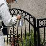 Apollo Paint Sprayer for Wrought Iron refinishing