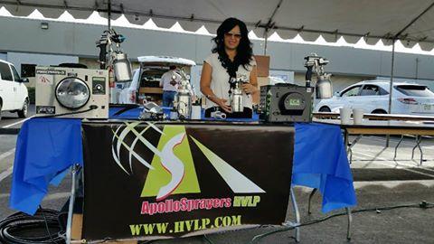 Apollo Sprayers at the TH&H Hardwood & Hardware Tradeshow