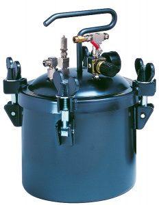 2.5 Gal. (10 L) Pressure Pot with Single Regulator