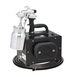 ECO-MINI with the E7200 Non-Bleed Spray Gun