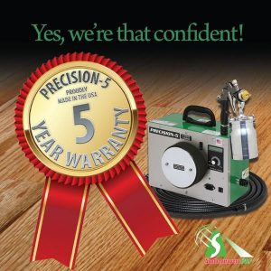 Precision-5 Five Year Warranty