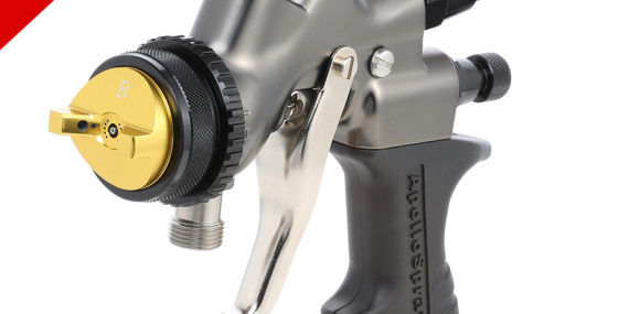 All-New A7700T Turbine Spray Gun