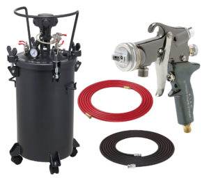 10 Gallon Combo Package with the 5605 Spray Gun