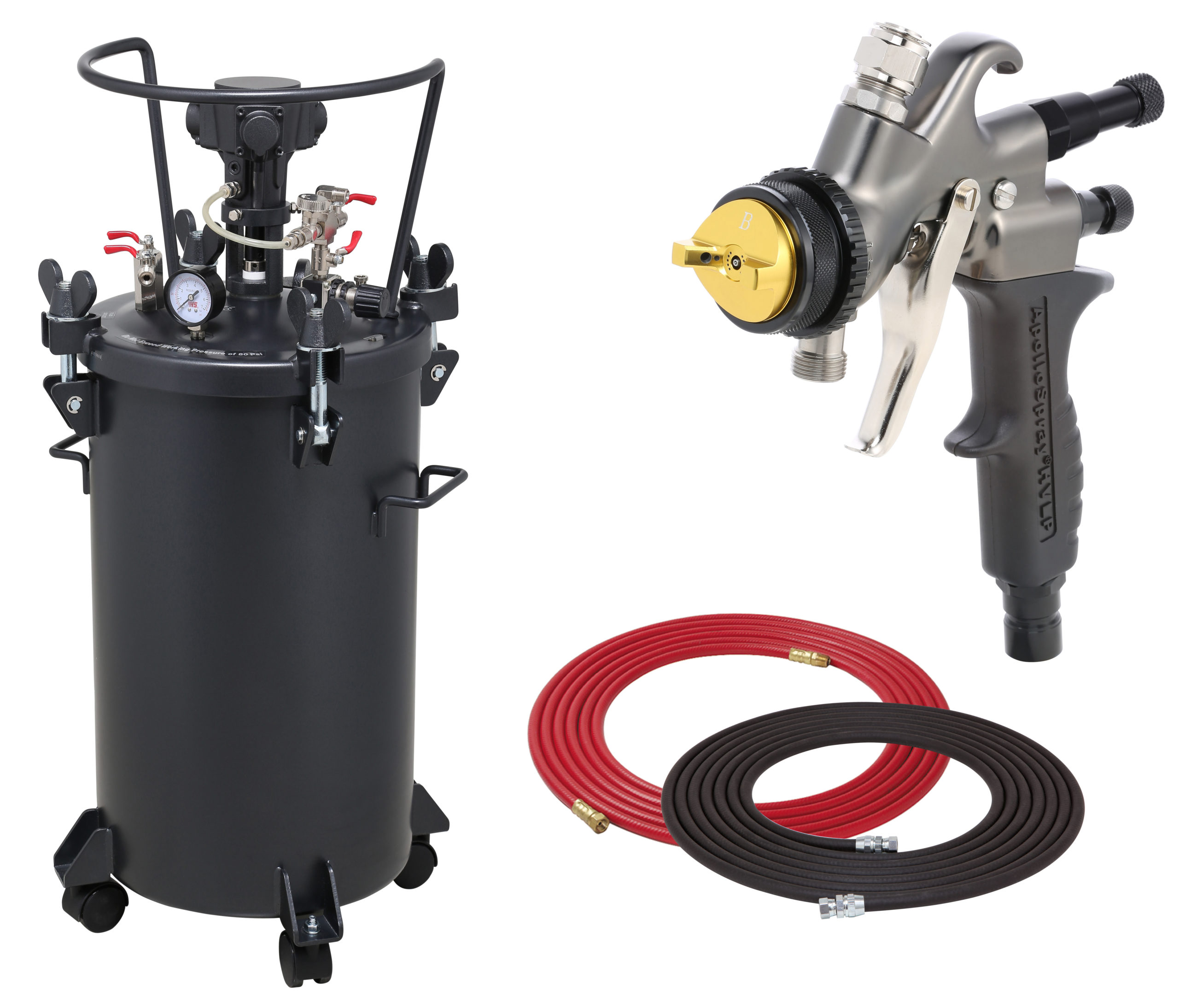 10 Gallon Combo Package with the 7700C Spray Gun