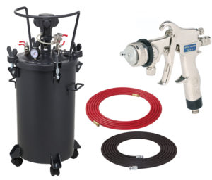 10 Gallon Combo Package with the 8200 Spray Gun