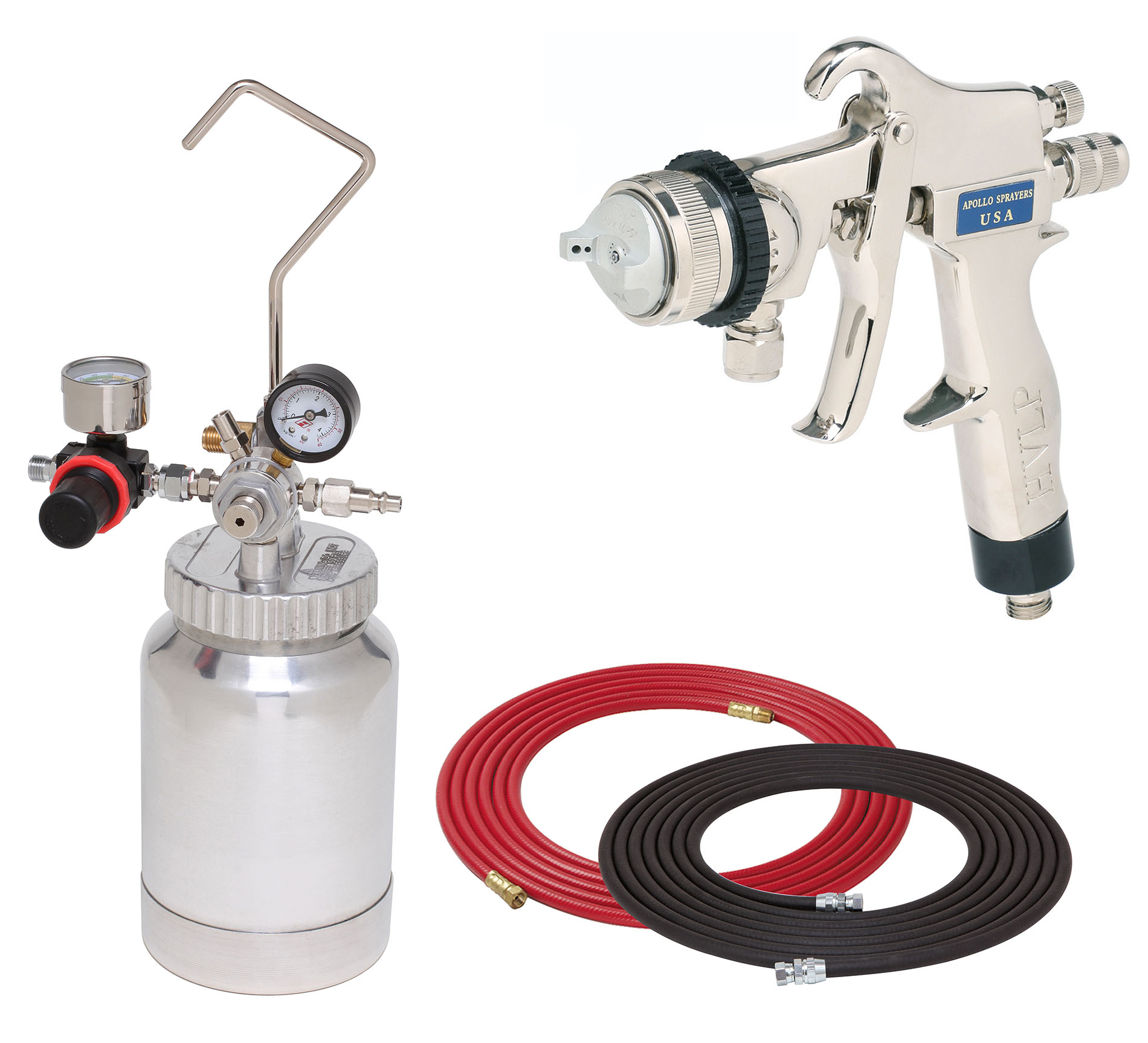2 Quart Combo Package with the 8200 Sprayer Gun