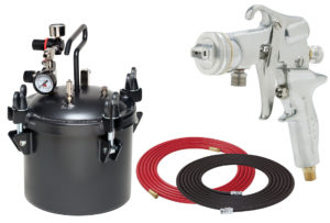 2.5 Gallon Combo Package with the 5106 Spray Gun
