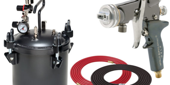 2.5 Gallon Combo Package with the 5605 Spray Gun