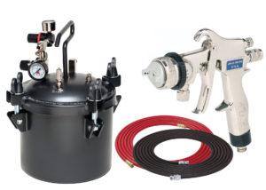 2.5 Gallon Combo Package with the 8200 Spray Gun