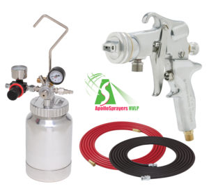 2 Quart Combo Package with the 5106 Spray Gun