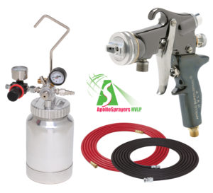 2 Quart Combo Package with the 5605 Spray Gun