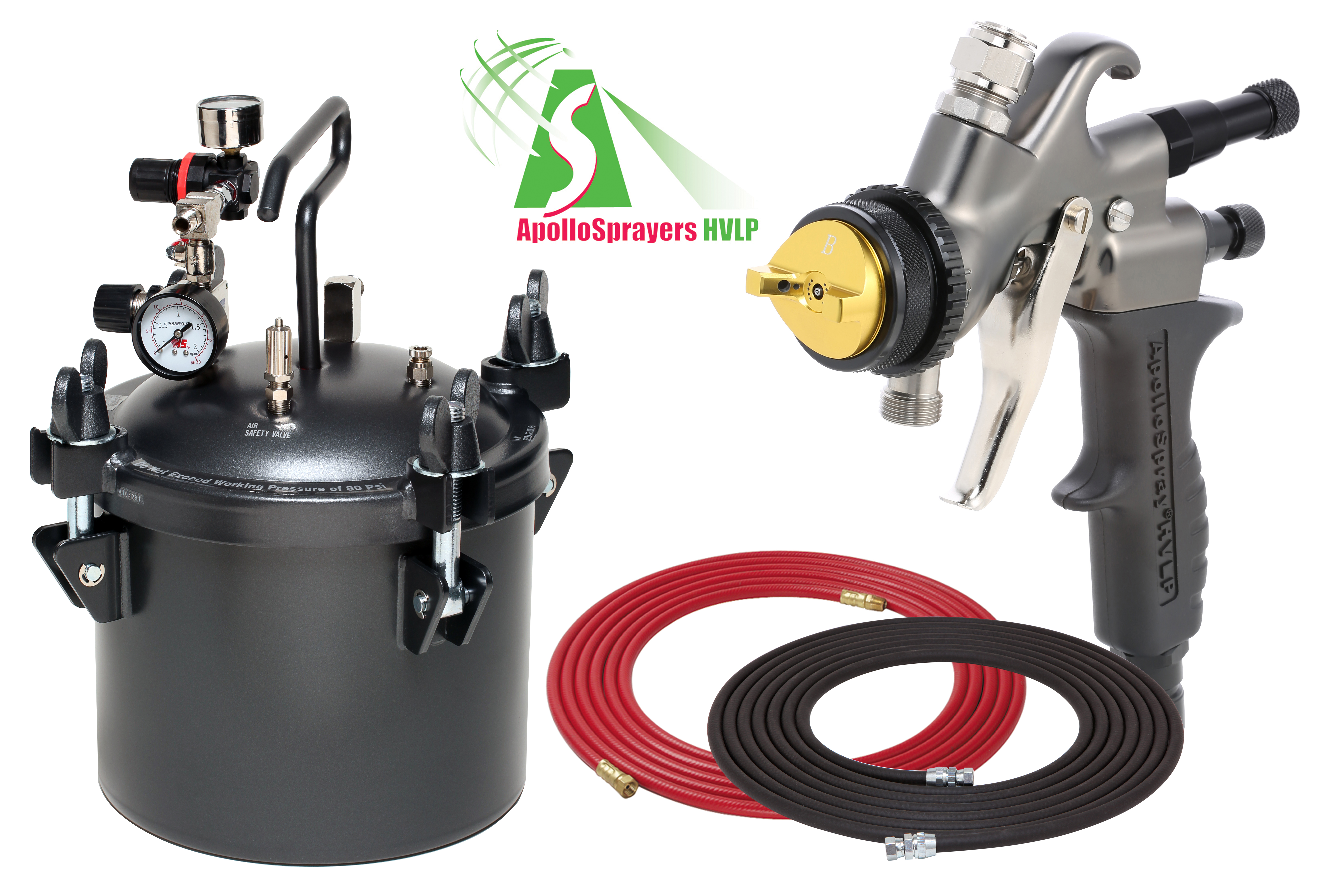 2.5 Gallon Combo Package with the 7700C Spray Gun