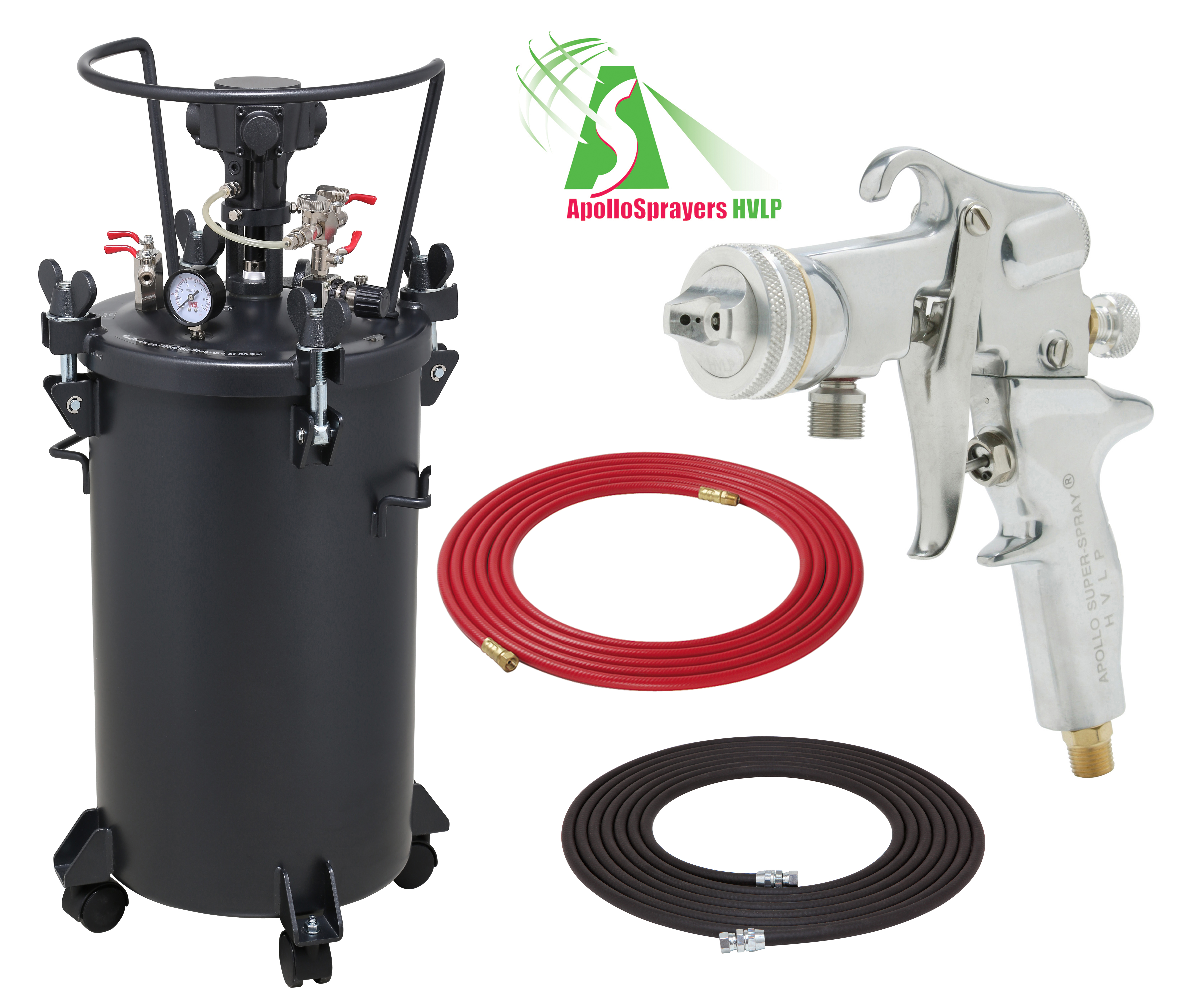 10 Gallon Combo Package with the 5106 Spray Gun