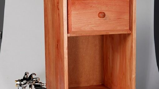 wood finishing cabinet