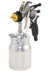 non-bleeder spray gun